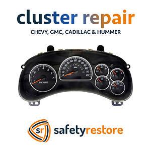BUICK RAINIER Speedometer Instrument Cluster Gauge and Display REPAIR