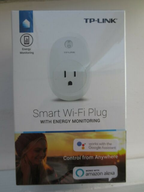 TP-Link HS110 Kasa Wi-Fi Smart Plug with Energy Monitoring, brand new and sealed