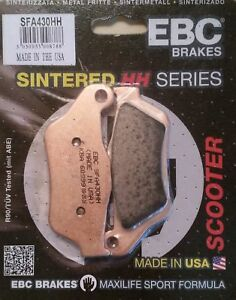 Yamaha-YP125R-X-Max-2006-to-2009-EBC-Sintered-FRONT-Disc-Brake-Pads-SFA430HH