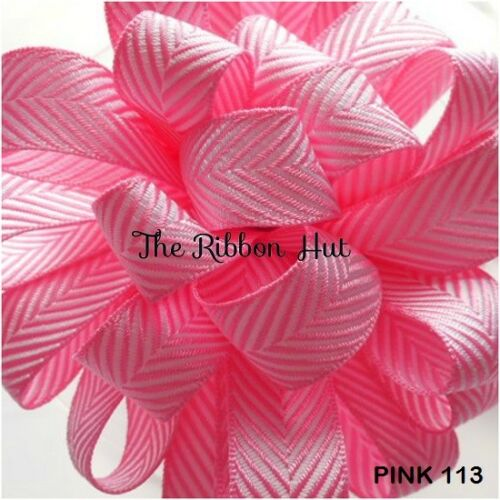 1Mtr//3Mtrs//5Mtrs Chevron Ribbon 16mm Herringbone Ribbon-Berisford Twill