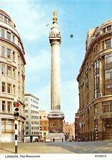 London The Monument - fluted Doric column, near London Bridge, superb view 1973