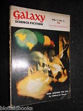 GALAXY MAGAZINE: Vintage Science Fiction Short Stories - c1952 - Clifford  Simak