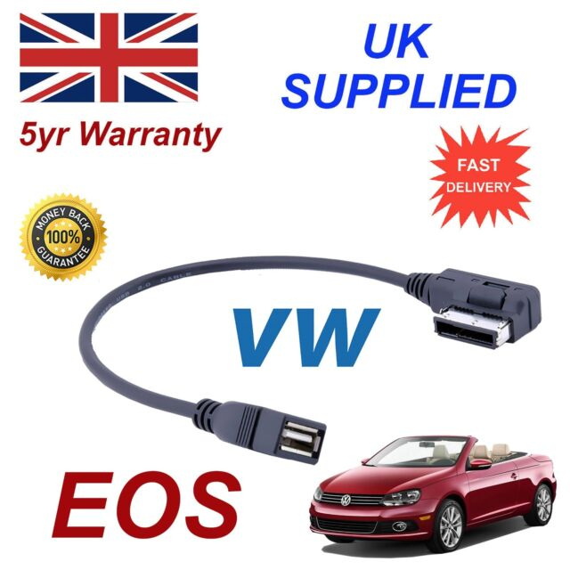 For VW EOS MMI 000051446B MEMORY Stick USB Audio Cable