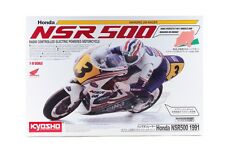 Kyosho 34932 1/8 Scale EP RC Bike Motorcycle Hanging On Racer Kit Honda NSR500