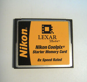 Nikon-Lexar-Memory-CF-8x-Speed-Rated-Nikon-Coolpix-Starter-Memory-Card-M22