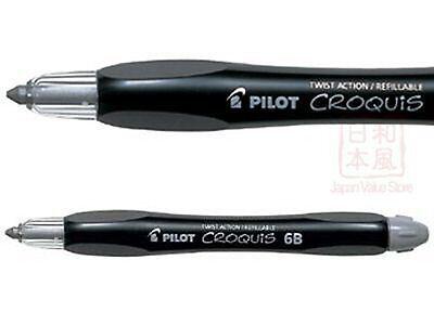 Pilot Croquis Charcoal Sketch Draw Pencil - 6B