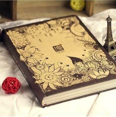 """Little Secret"" Luxury Diary Big Notebook Cute Korean Planner Journal Memo Gift"