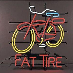 Bike Fat Tire NEON LIGHT SIGN Display Garage STORE BEER #1: s l300