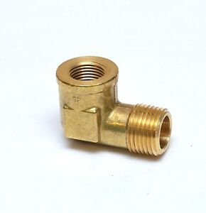 """Forged Street Elbow Fitting 3/8 Female NPT x 1/2"""" NPT Male FASPARTS"""