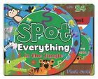 Spot Everything Book - Jungle: Spot Everything with Flash Cards by North Parade Publishing (Hardback, 2014)