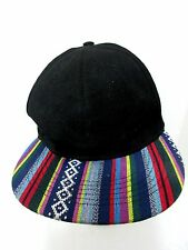 Snapback Baseball Hat Cap Multi-Color Rainbow Stripes Southwestern Love Culture