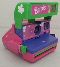 Barbie Polaroid 600 Instant Camera with Matching Stickers - NICE