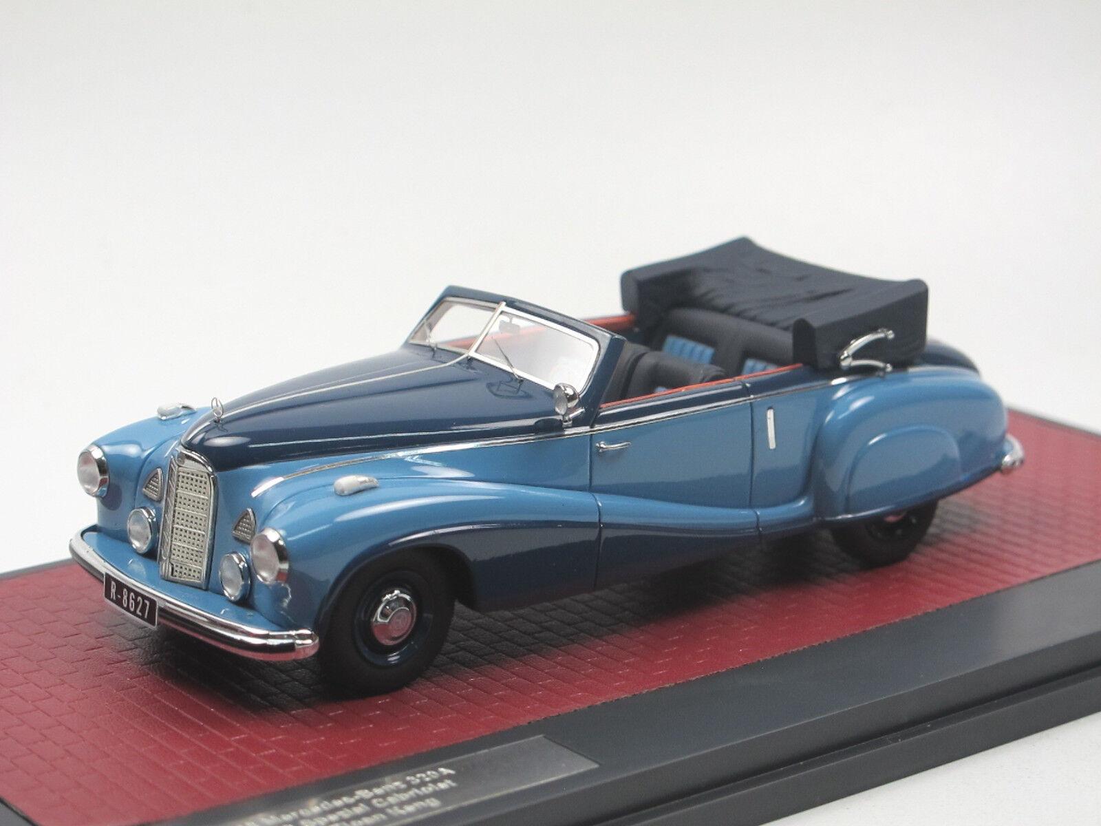 Matrix Mercedes-Benz 320A W142 Special CABRIOLET B Tan tjoan KENG-Open 1 43