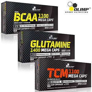 BCAA-Glutamine-TCM-Tri-Creatine-Malate-90-180Caps-Muscle-Mass-Builder-Pills