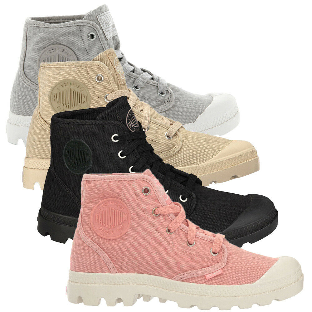 Palladium Pampa Hi Top para Mujer botas botas botas al Tobillo Zapatos Para Caminar Entrenadores de Lona Dama  aquí tiene la última