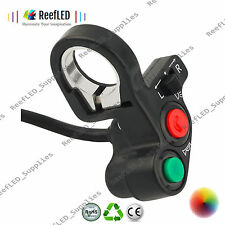 "Motorcycle Motorbike 7/8"" Handlebar Headlight Turn Signal Control Switch UK"