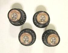 Jack Daniel's Guitar Knobs, Jack Daniels logo volume Guitar Knobs, JD knobs