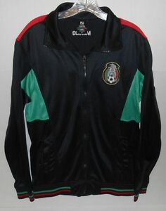Lada Soccer Football Team Full Zip Front Black Jacket Mexico Men's ...