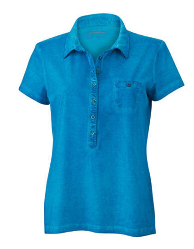 James /& Nicholson Damen Poloshirt LADIES GIPSY POLO S M L XL XXL Neu JN987