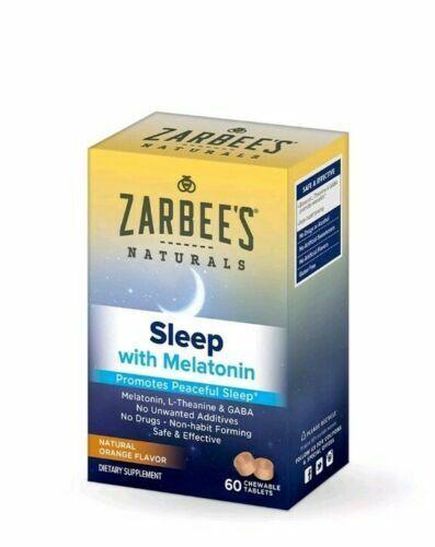 Zarbee S Naturals Childrens Sleep Melatonin Supplement 90 Chewable For Sale Online Ebay