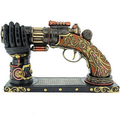 Nemesis Now Nock's High-Powered Steam Gun 22.5cm-Steampunk-Fantasy New Boxed