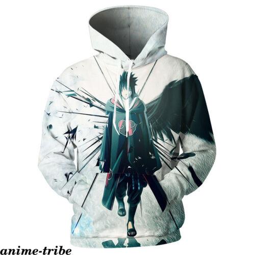 Anime NARUTO0 3D print Hoodie Men Sweatshirt Zipper Sweater Casual Jacket Coat