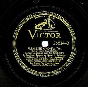 BENNY-GOODMAN-Orchestra-on-1938-Victor-25814-Ti-Pi-Tin-Please-Be-Kind