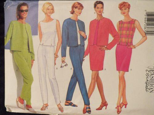 Lovely OOP BUTTERICK 4510 MS Jacket Top Skirt /& Pants PATTERN 6-8-10//12-14-16 UC