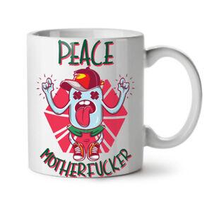 Sarcastic Peace NEW White Tea Coffee Mug 11 oz | Wellcoda