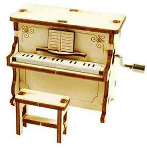 Piano-Music-Box-Orgel-WOODEN-MODEL-KIT