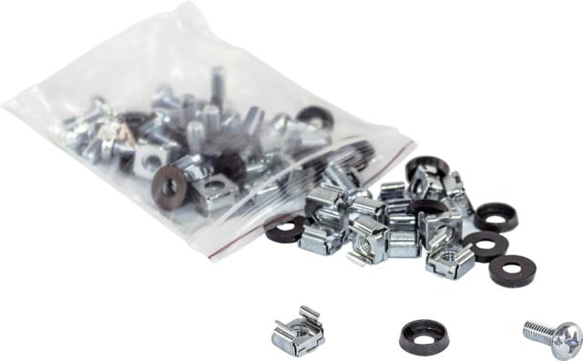 Intellinet 712194 19 Zoll Netzwerkschrank-Befestigungsmaterial Silber