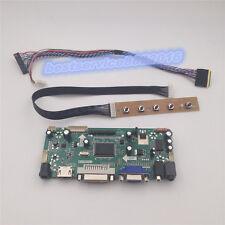 """for 10.1"""" N101L6-L01 LED LCD Controller Kit Panel HDMI + DVI + VGA NT68676 new"""