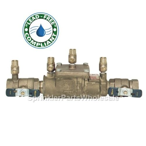 "Ames 3//4/"" LF2000B Lead Free Double Check Backflow Preventer 0425000 Watts LF007"