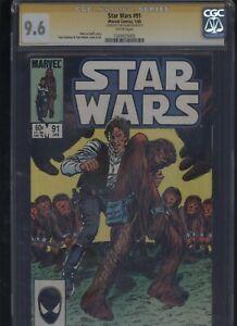 Star-Wars-91-CGC-9-6-SS-Tom-Palmer-1985-MARVEL-COMICS