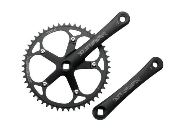 Sugino XD2 Single speed Bike Crankset 46T 170mm Track Fixed Gear Silver