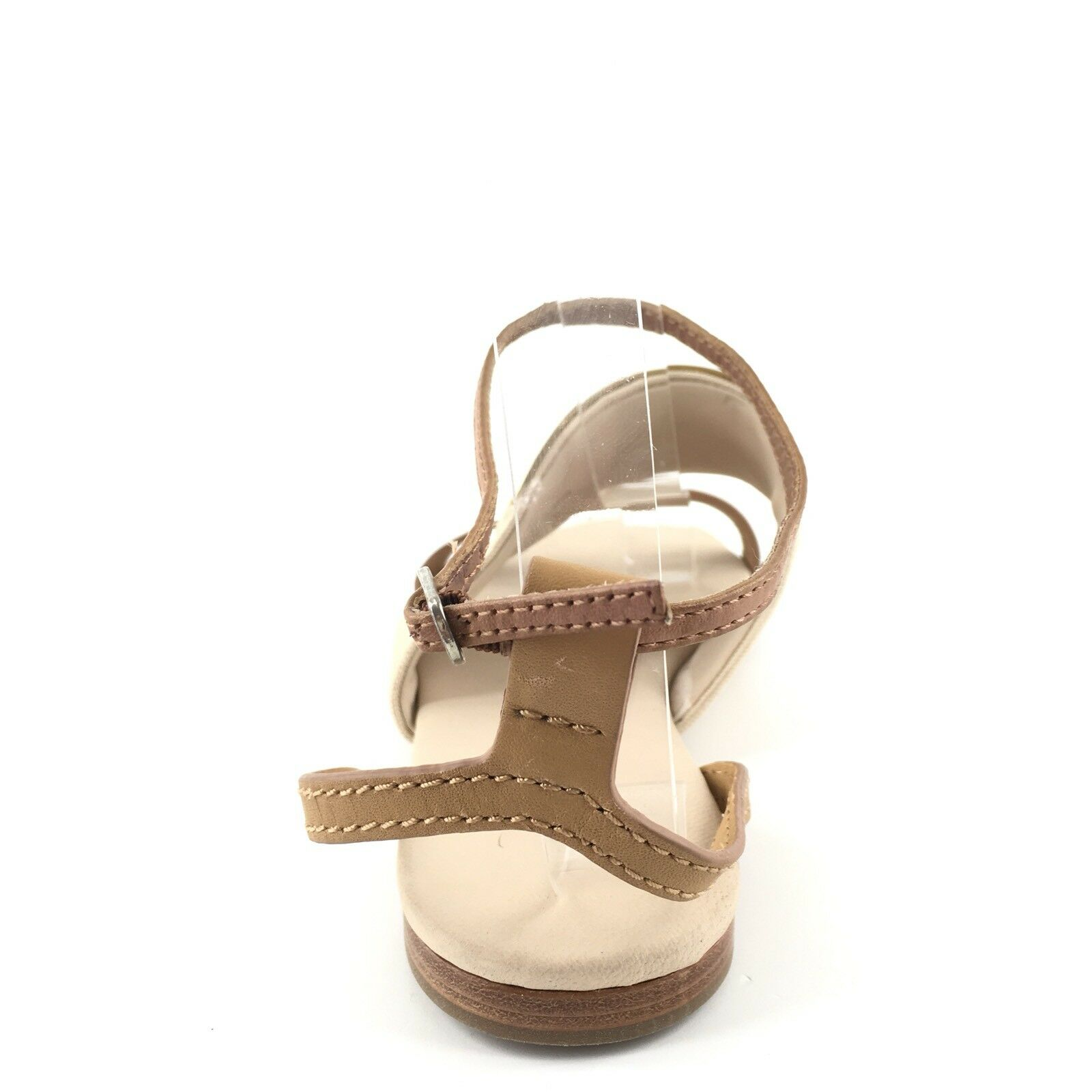 See By Chloe Canvas Tan Tan Tan Leather Ankle Strap Sandals femmes's Taille 37 M a181ff
