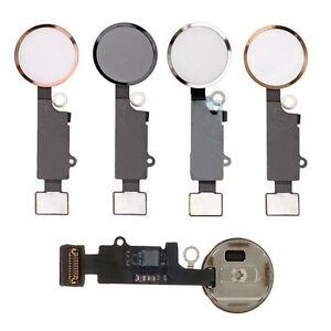 best website cc952 48ab5 Details about Replacement Home Button for iPhone 7 / Plus with Flex Cable  Touch ID Sensor