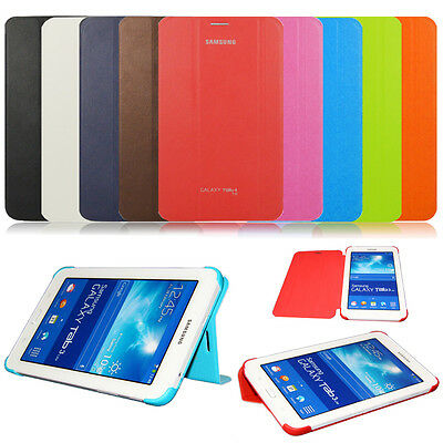 Ultra Slim PU Leather Smart Case BOOK Cover For Samsung Galaxy Tab 4 7.0 SM-T230