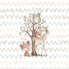 PANEL Kissen 45x50cm Waldfreunde ✿ Baumwolle Premium Kinderstoff Kindermotiv