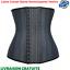 miniature 1 - Latex Corset Gaine Amincissante Ventre Plat Waist Trainer Ceinture Minceur Body