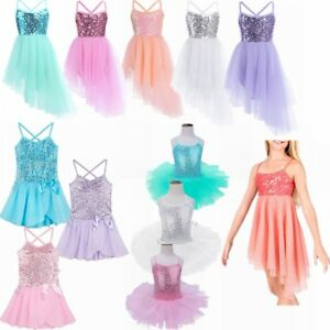 76da67746 Image is loading Baby-Girls-Toddler-Tutu-Skirt-Leotards-Unitards-Ballet-