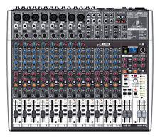 Behringer XENYX X2222USB 22-Channel Mixer Board w/ USB & FX  X2222-USB In Box!