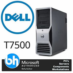DELL-T7500-2x-Xeon-Six-Core-X5650-2-66ghz-Precision-Torre-48gb-RAM-2tb-WIN-10