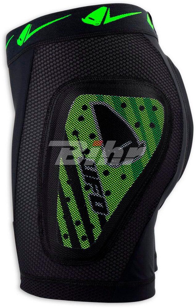 Pantalones cortos UFO Kombat adulto con projoecciones verde talla L PI02354AL