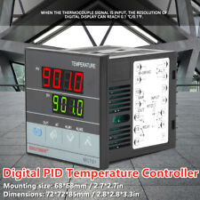 Mc701 Digital Pid Temperature Controller K Type Sensor Input Relay Ssr Output