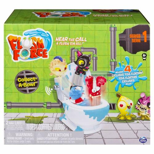 Flush Force Series 1 Collect-A-Bowl Stash 'n' Store with 4 Exclusive Flushies