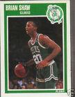 1989 Fleer Brian Shaw #14 Basketball Card
