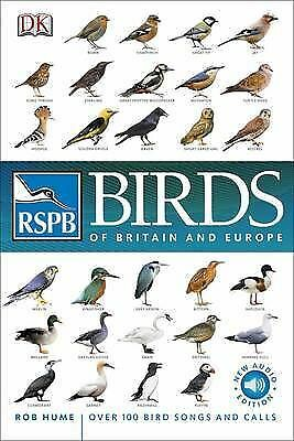 Rspb Birds of Britain and Europe-ExLibrary