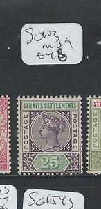 MALAYA STRAITS SETTLEMENTS (P0210B) QV 25C SG 103 MOG