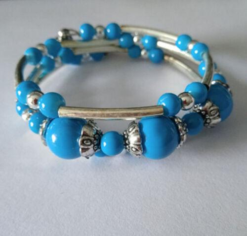 Fashion jewelry Tibet Tibetan silver ladies Lucky beads bracelet